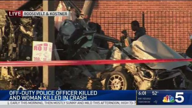 [CHI] Off-Duty CPD Officer, Woman Killed in West Side Crash