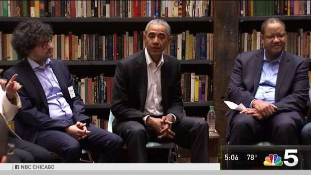 [CHI] Former President Obama Meets With Foundation Fellows