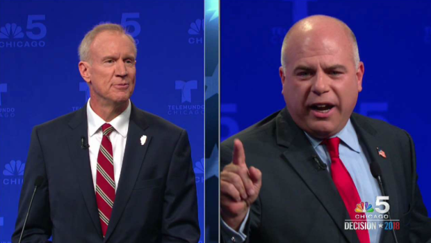 'You're a Liar': McCann, Rauner Get Heated in Forum