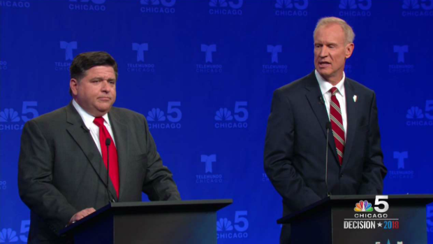 'Haven't Done an Honest Day's Work': Rauner, Pritzker Battle