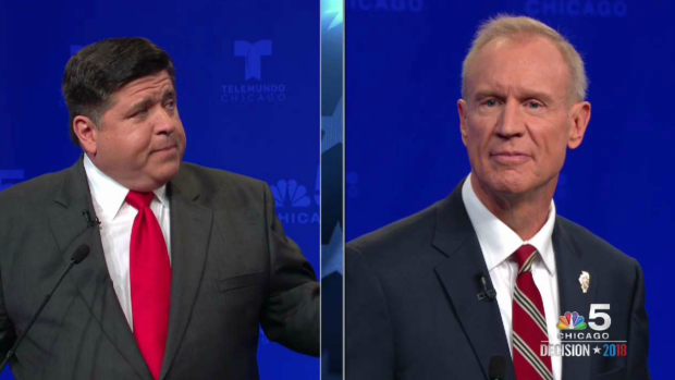 Rauner, Pritzker Spar Over Impasse and Integrity