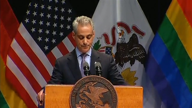 "[CHI] Rahm: ""There Is No Straight or Gay Marriage"""