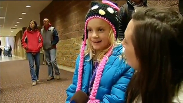[CHI] Tornado Victims Celebrate Thanksgiving