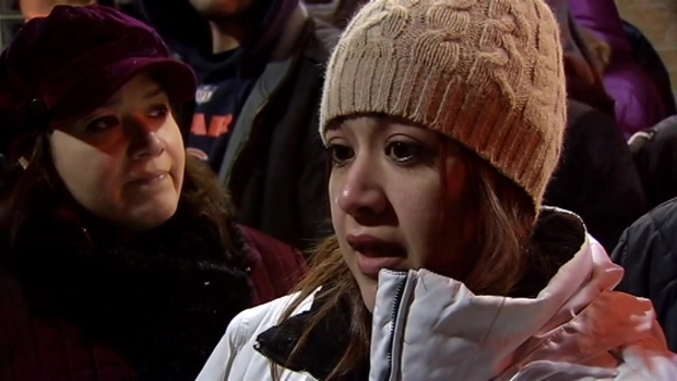 [CHI] Emotional Vigil for Slain Sheriff's Officer