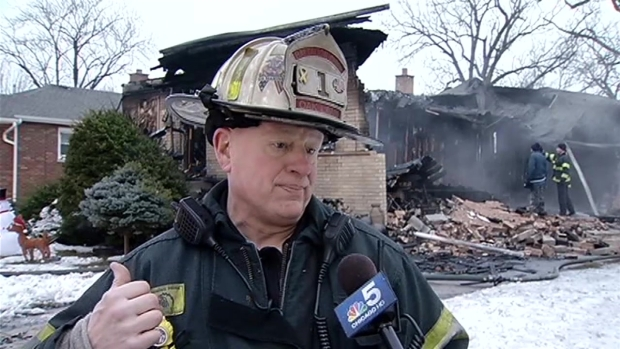 [CHI] Home Explodes in Oak Lawn