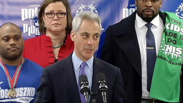 [CHI] Emanuel Gets Emotional About Special Olympics