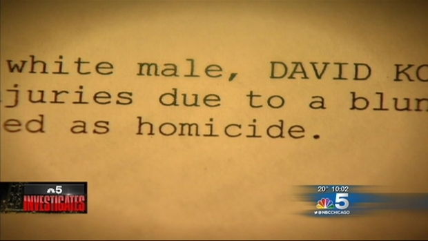 [CHI] David Koschman's Mother Files Civil Rights Lawsuit