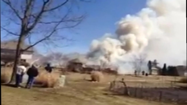 [CHI] House Explodes in New Lenox