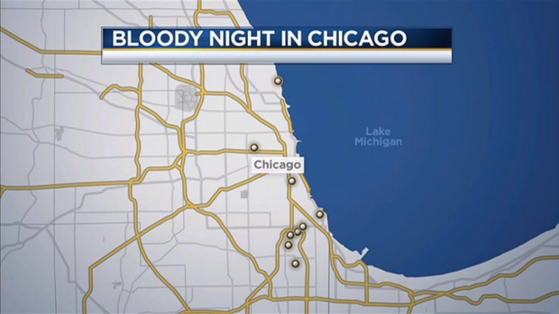 [CHI] 15 Wounded by Shootings in 12 Hours in Chicago