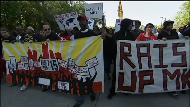 [CHI] Protesters Return to McDs HQ