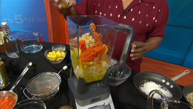 [CHI] Wayne Johnson's Mango Carrot Coconut Soup
