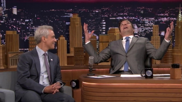 "[CHI] Rahm Appears on ""The Tonight Show"""