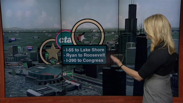 [CHI] Kennedy Closure: How to Get to Blues Fest