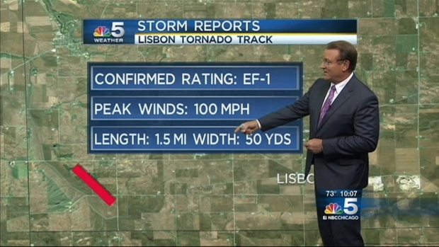 [CHI] Five Tornadoes Touch Down in Illinois