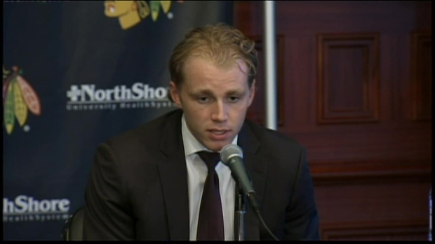 "[CHI] Patrick Kane: ""I'm Humbled to Be Up Here"""