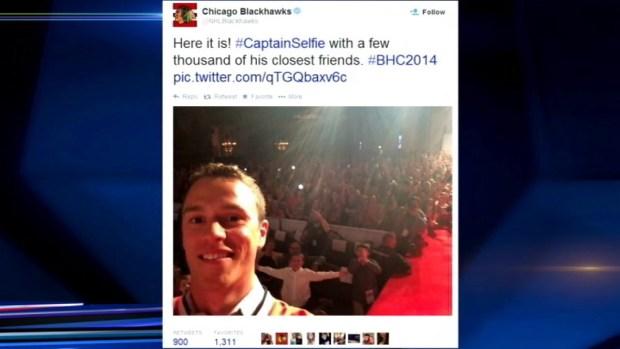 """[CHI] """"Captain Serious"""" Tranforms Into """"Captain Selfie"""""""