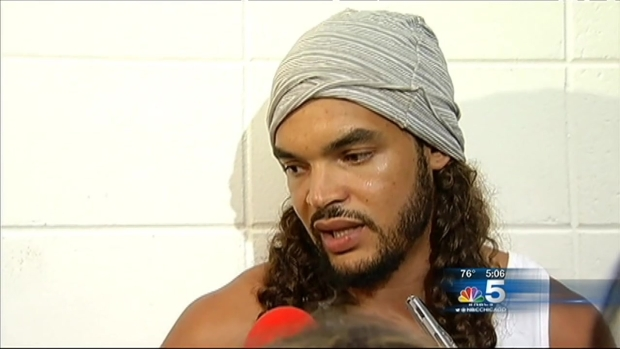 [CHI] Chicago Bulls Star Joakim Noah Stands Against Violence In New PSA