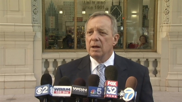 [CHI] Durbin Discusses Walgreen's Decision