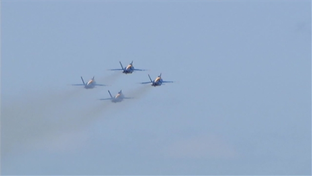 Why The Blue Angels Like Chicago