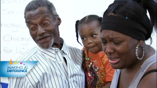[CHI] Homeless Man Reunites With Family After 18 Years
