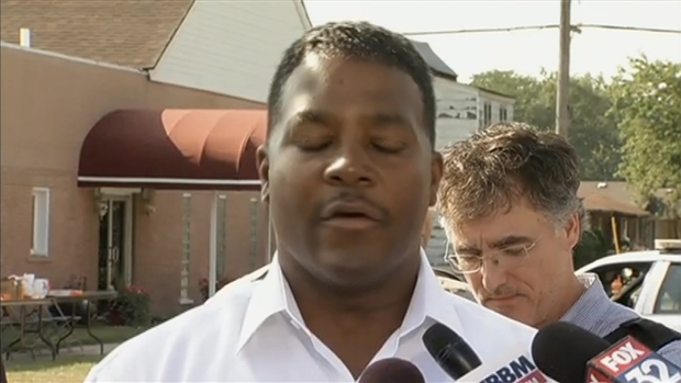 Harvey Mayor: Keep Shot Officer in Your Prayers