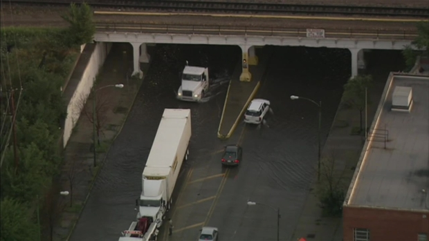 Flooding: Viaduct at 75th & Western