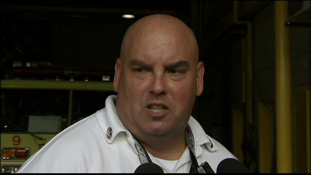 [CHI] Hero Firefighter Describes Scene at O'Hare Bus Crash