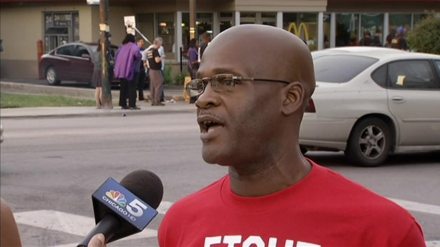 Protester Explains Why Minimum Wage Hike is Needed