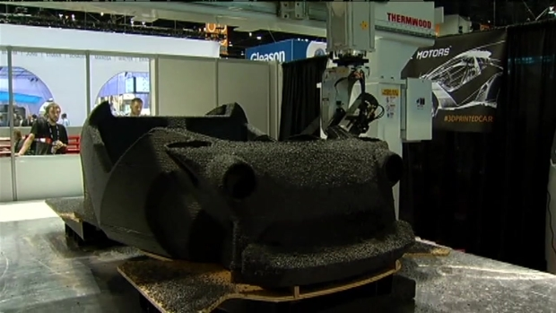 [CHI] Watch This 3-D Printer Make a Car