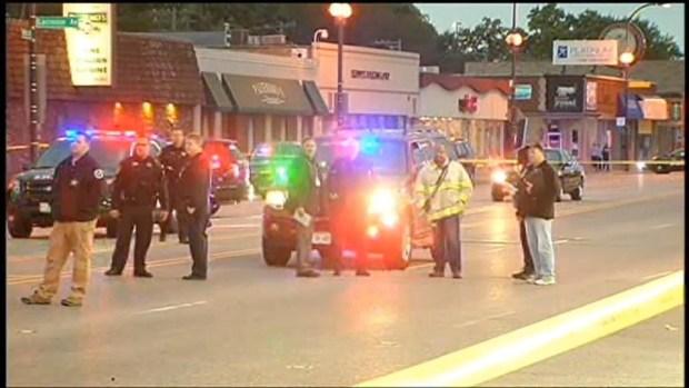 [CHI] Raw: Officials Investigate Oak Lawn Crash Scene