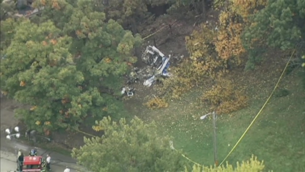 [CHI] Raw: Plane Crashes in Suburban Palos Hills
