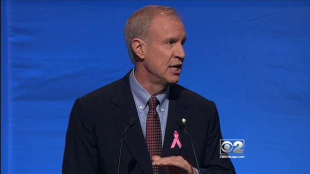 [CHI] Rauner, Quinn Square Off in Governor's Debate in Chicago
