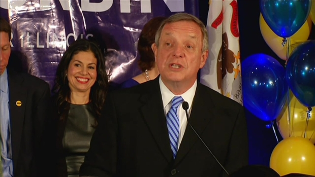 "[CHI] Durbin: ""This Election Campaign is Historic"""