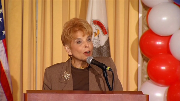 Topinka Gives Victory Speech