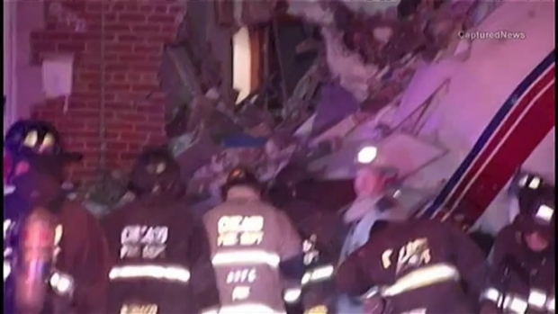 [CHI] Plane Crashes Into Home Near Midway