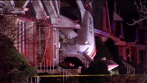 [CHI] Pilot Killed After Plane Crashes Into Home Near Midway