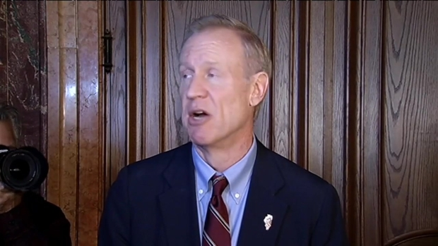 [CHI] Governor-Elect Bruce Rauner Visits Springfield