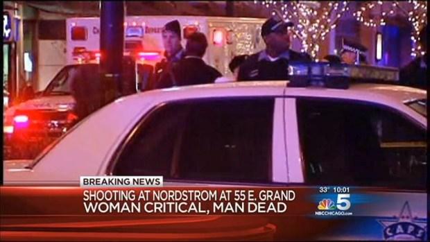 [CHI] Man Killed, Woman Injured in Shooting at Nordstrom