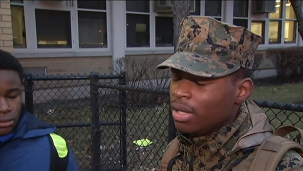 [CHI] Students Mourn 15-Year-Old Demario Bailey at Johnson College Prep