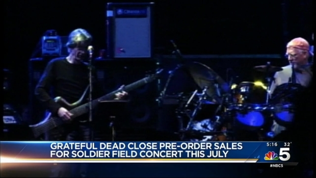 [CHI] Grateful Dead Fans Mail in 60,000 Ticket Requests
