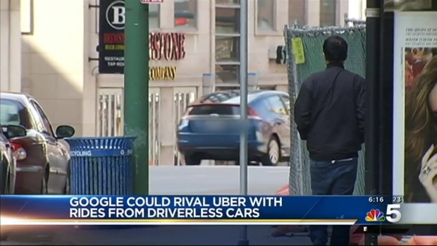 [CHI] Google Could Rival Uber With Rides From Driverless Cars