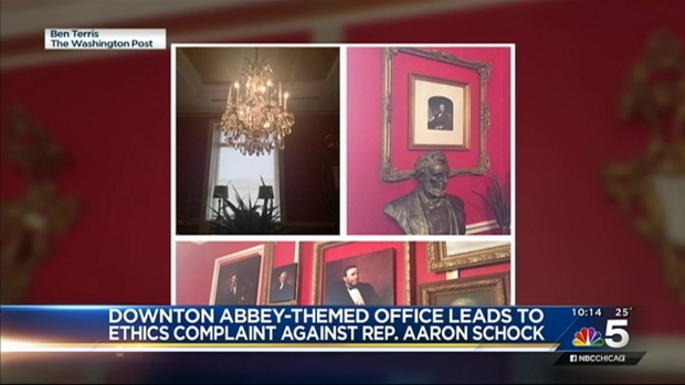 "[CHI] Rep. Schock's ""Downton Abbey"" Office Decor Sparks Ethics Investigation"