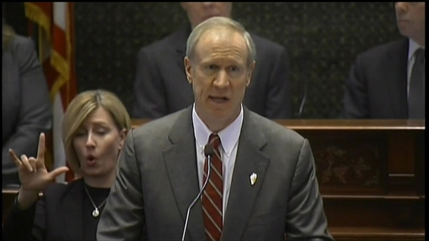 [CHI] Rauner Talks Reform in Budget Address