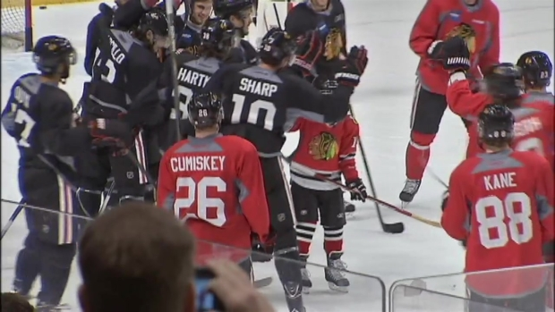Blackhawks Make Kid's Wish Come True