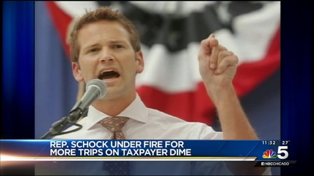 [CHI] Illinois Rep. Aaron Schock Billed Taxpayers for Private Plane to Bears Game