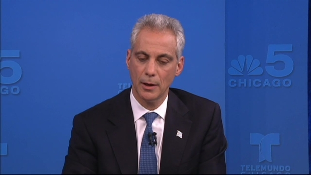 [CHI] Rahm, Chuy Offer One Big Idea for Chicago