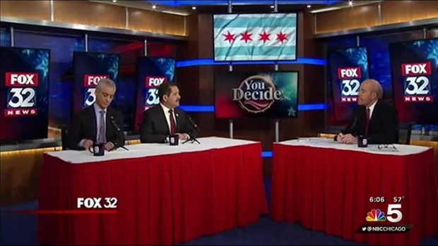 [CHI] Emanuel and Garcia Engage in Final Debate