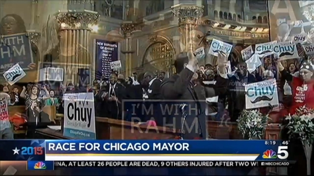 [CHI] Mayoral Race Becomes More Heated Two Days Before Election