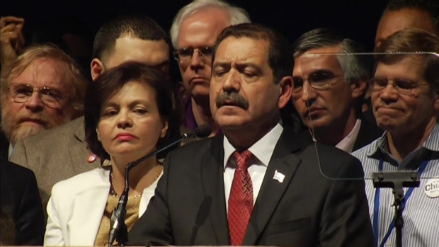 "[CHI] WATCH: Jesus ""Chuy"" Garcia's Concession Speech"