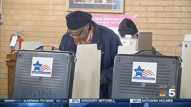 """[CHI] Emanuel Thanks Voters For """"Putting Me Through My Paces"""""""